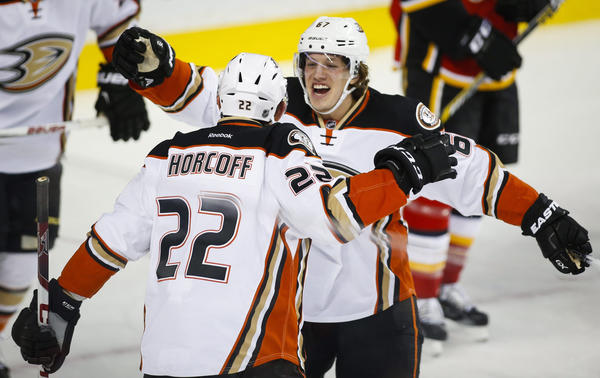 Ducks Blank Flames, 1-0, To End Calgary's Home Win Streak