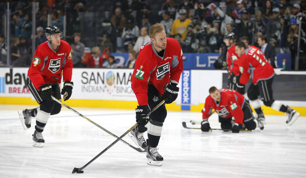 Jeff Carter's Leadership Role Didn't Happen Overnight