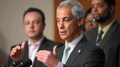 Emanuel touts Tasers, training to cut Chicago police shootings