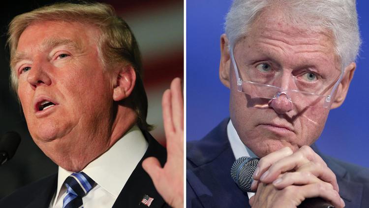 Donald Trump vs. Bill Clinton