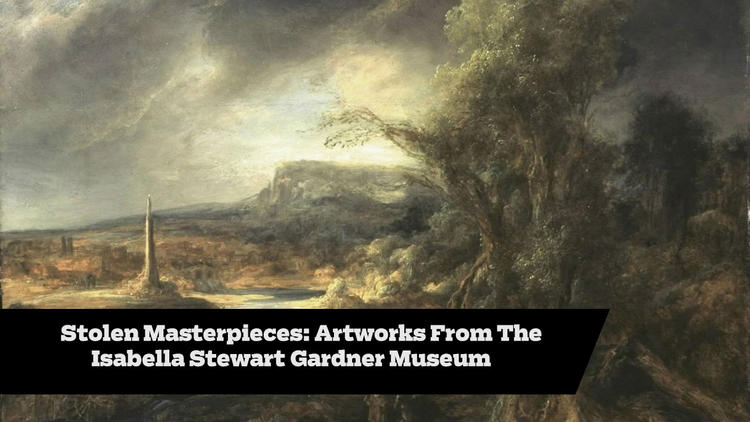 Stolen Masterpieces, A 23-Year-Old Mystery: Artworks From The Isabella Stewart Gardner Museum
