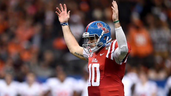 ed951334b Mississippi QB Chad Kelly was the final selection of the 2017 NFL draft. ( Stacy