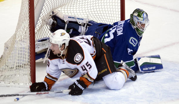Ducks Can't Get Job Done In Shootout At Vancouver