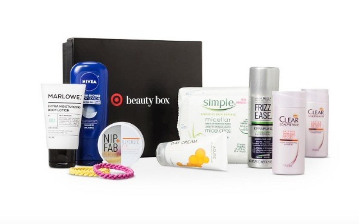 Hot 30 Target Beauty Boxes With 11 Produces For 7 Each