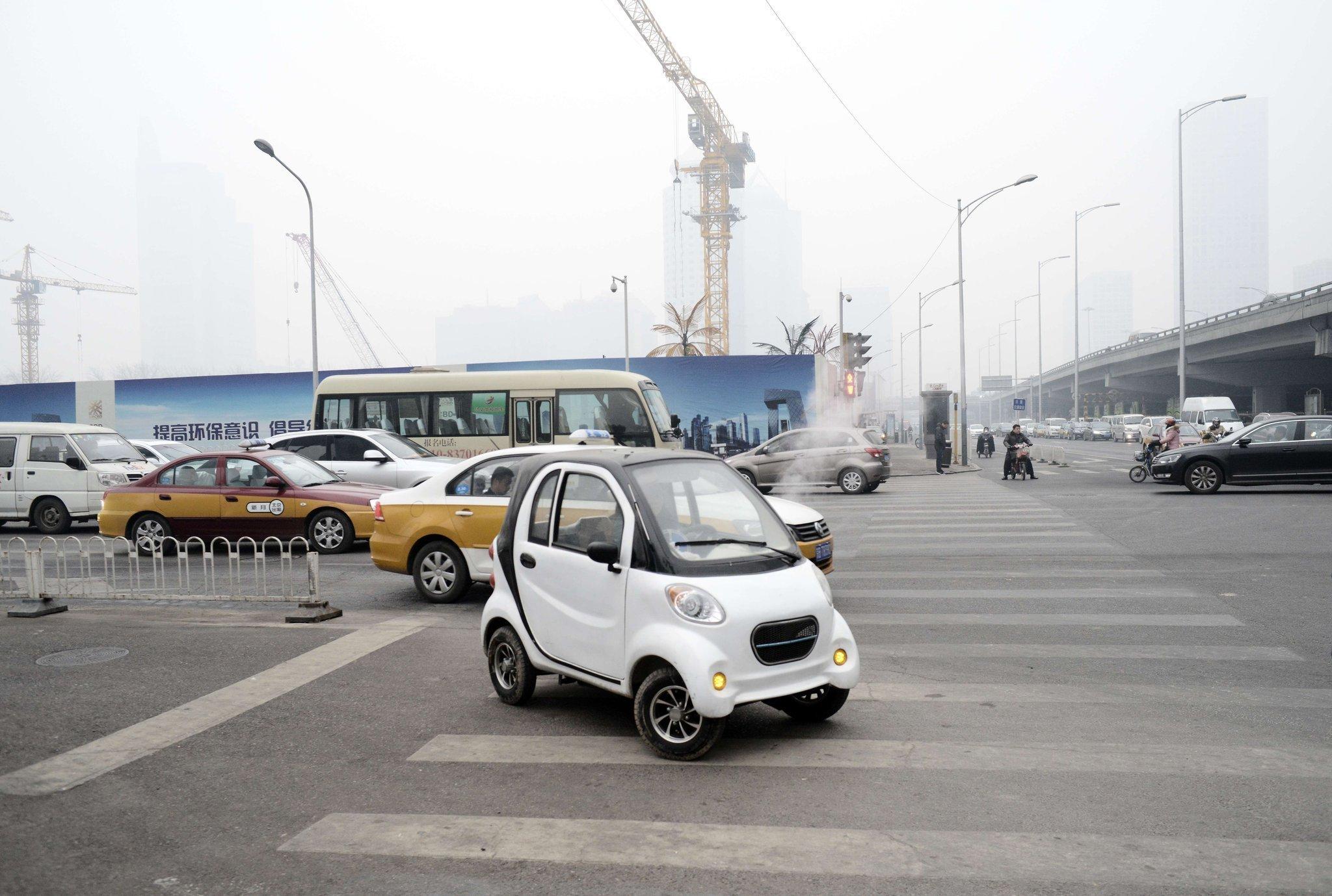 china 39 s electric car lesson la times. Black Bedroom Furniture Sets. Home Design Ideas