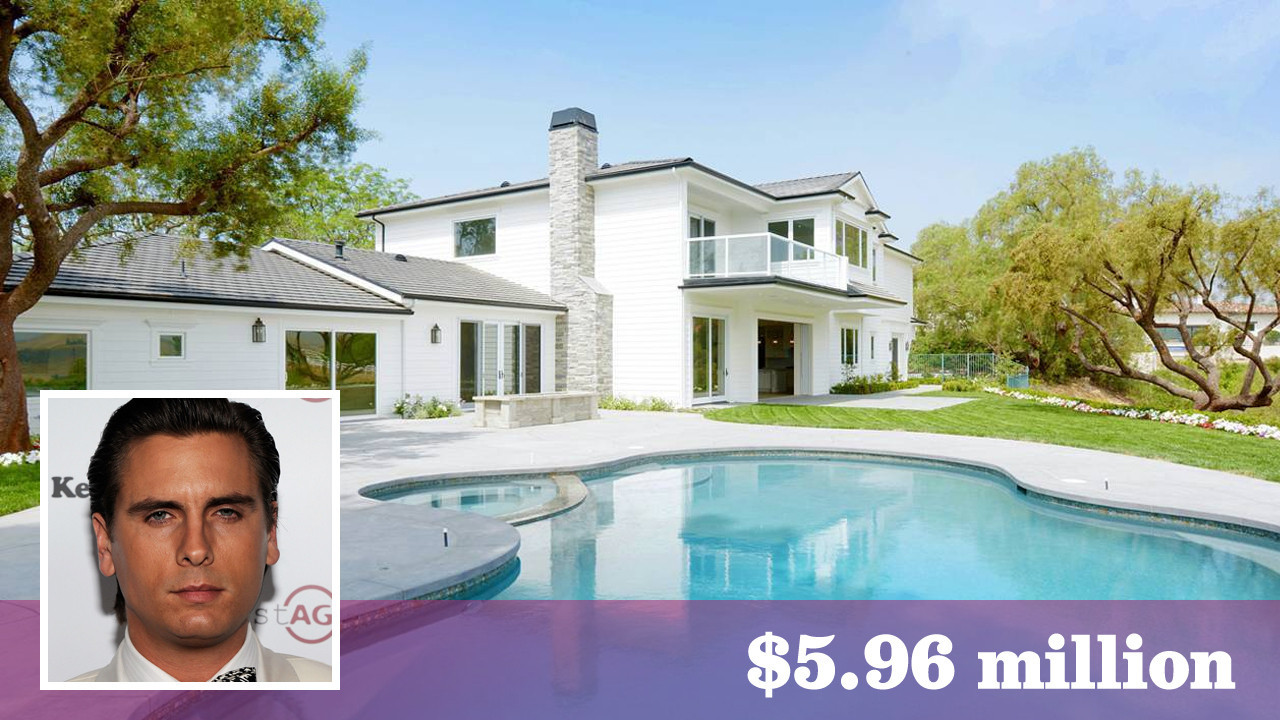 Scott Disick buys a 6 million Traditional style home in a  : la fi hotprop scott disick house 20160106 from www.latimes.com size 1280 x 720 jpeg 261kB