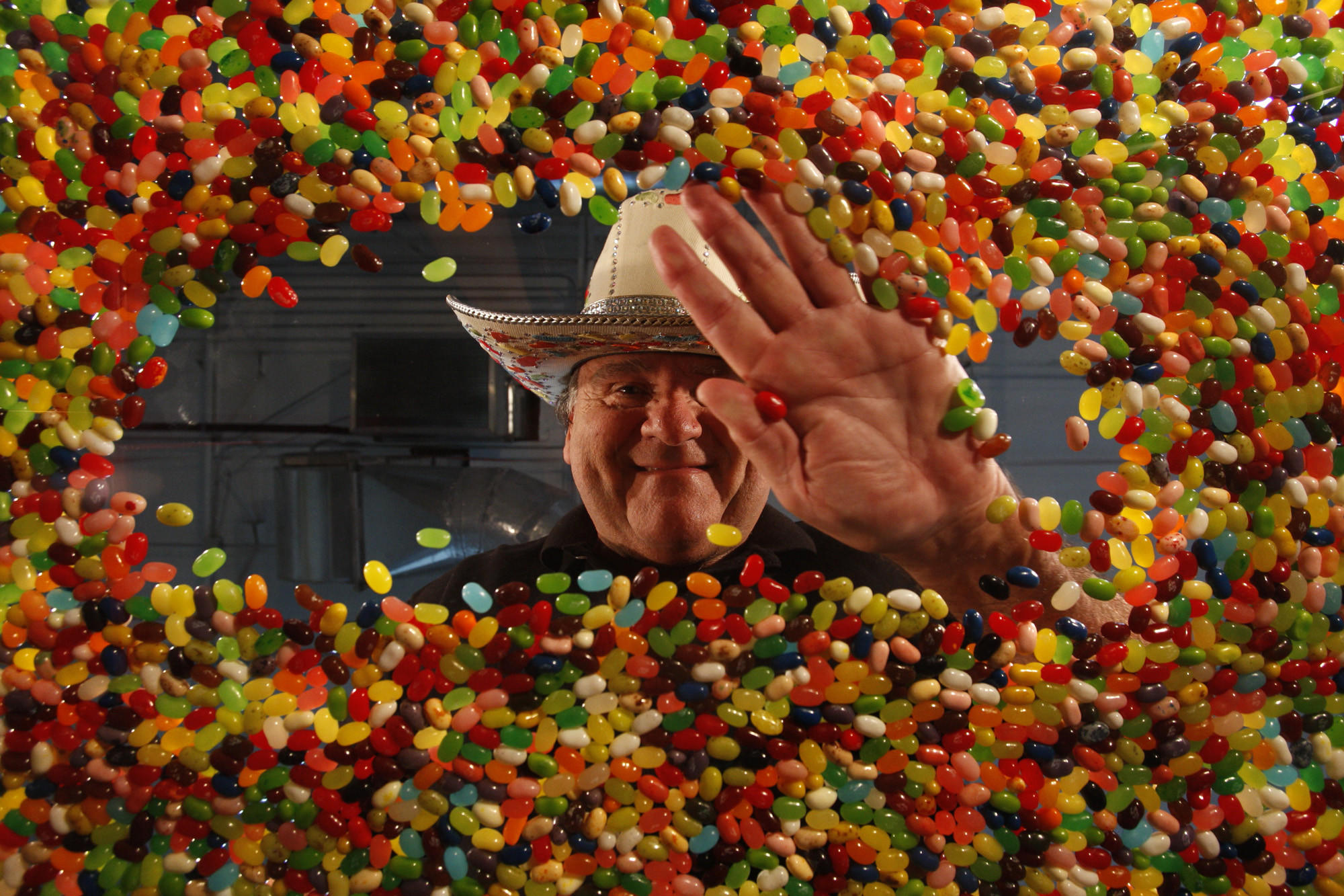 Jelly Belly inventor David Klein is shown in 2011.
