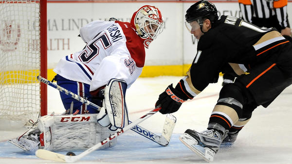 Ducks Add Goalie Depth Behind John Gibson, Who Is OK After Collision