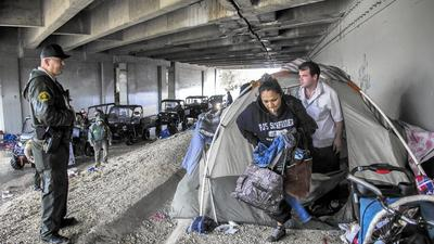 New cost estimates for homeless plan put L.A. officials on the spot