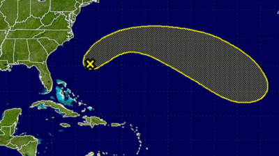 Unusual January low-pressure system spotted near Bermuda