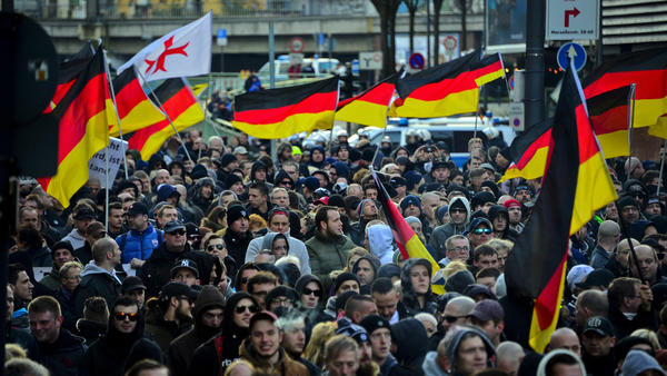 Protest in Cologne