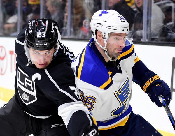 Kings Can't Breach Brian Elliott's Fine Blue Line In Shootout Loss To St. Louis