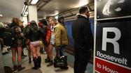 Photos: No pants subway ride