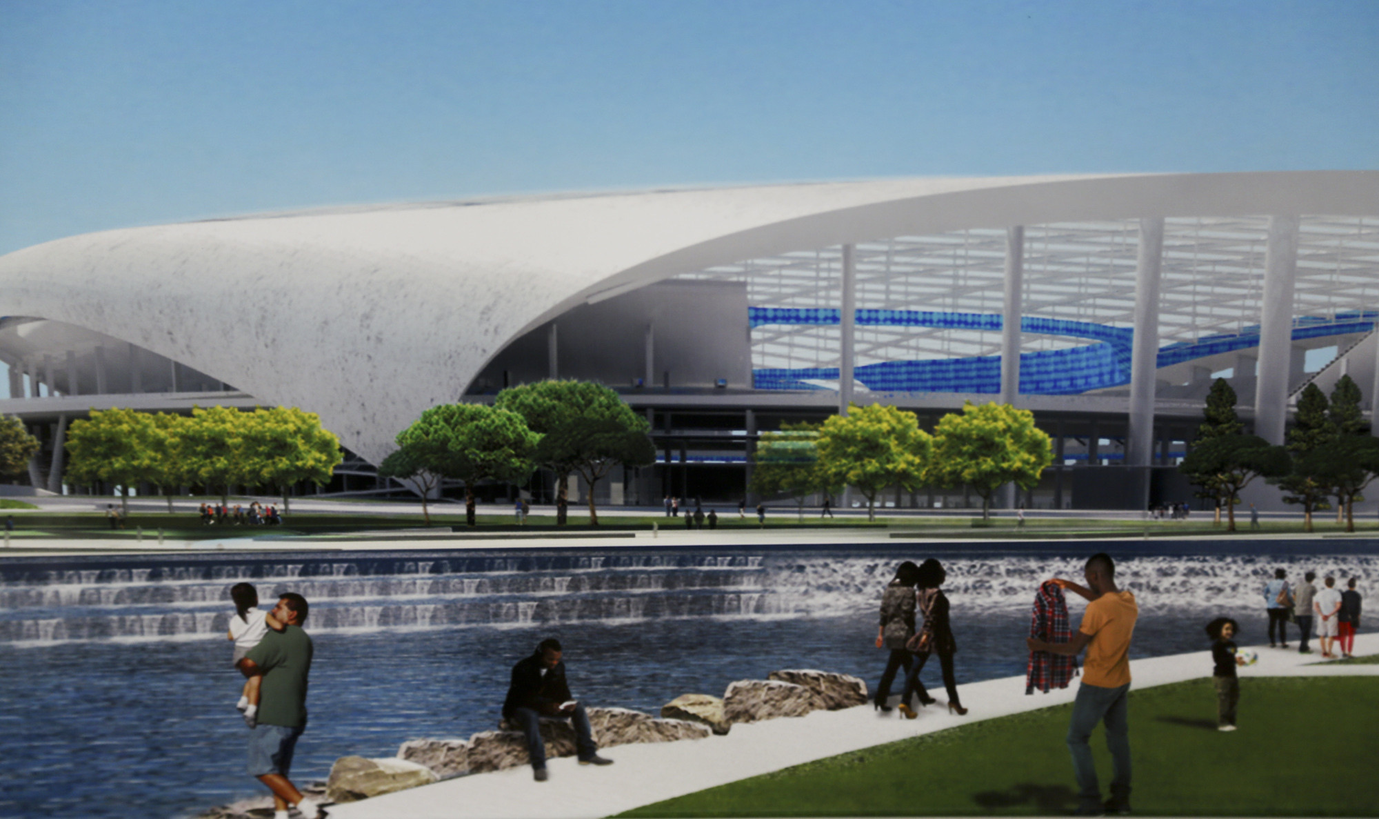Nfl Consensus Builds For A Rams Chargers Stadium Project