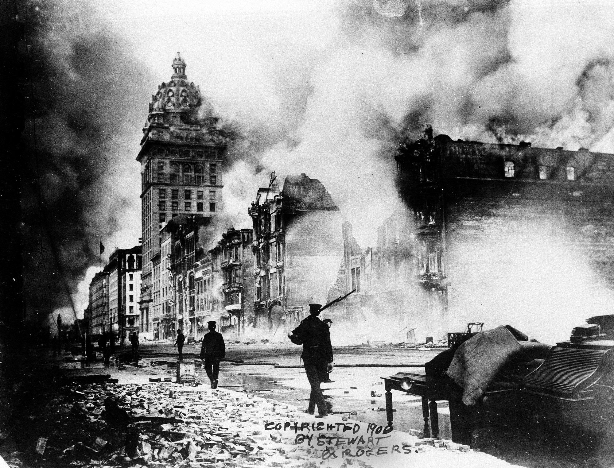 an overview of the disastrous san francisco earthquake of 1906 Executive summary  gdp lost as a result of the san francisco earthquake of 1906 a comparison of  most catastrophe risk modellers had previously thought.