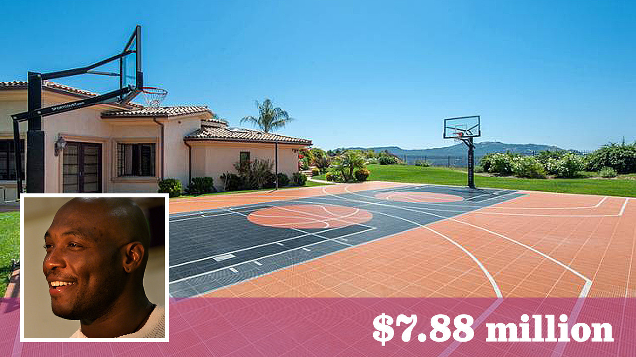 Former Laker Mitch Richmond sells his home court in Calabasas for
