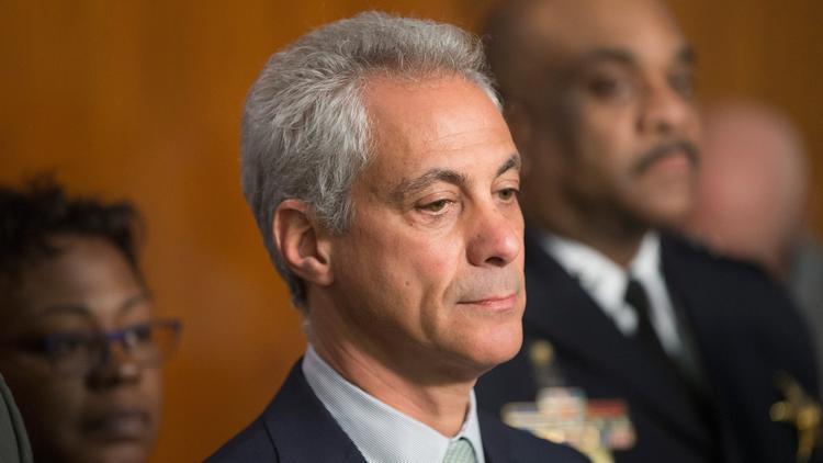 Chicago Mayor Rahm Emanuel has cycled through multiple Chicago Public Schools CEOs. (Scott Olson / Getty Images)