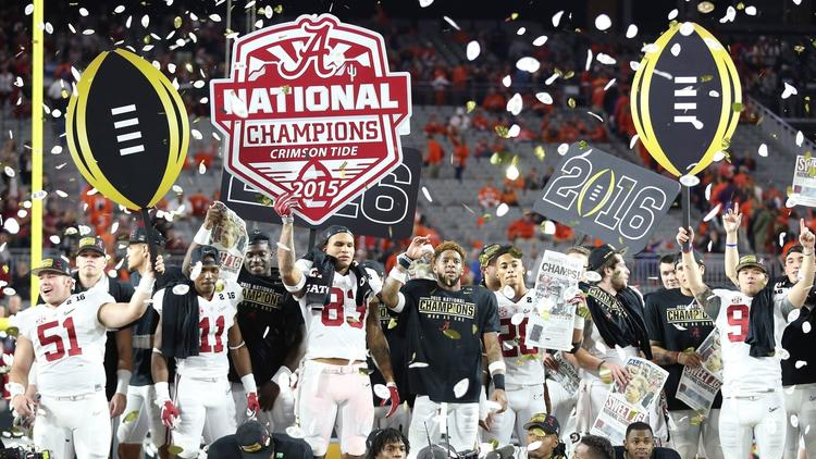 National Championship: Alabama 45, Clemson 40