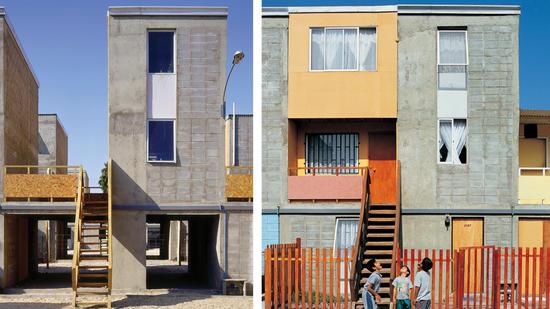 Alejandro Aravena's Quinta Monroy Housing, Inquique, Chile