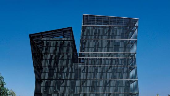 Alejandro Aravena's Siamese Towers in Santiago, Chile