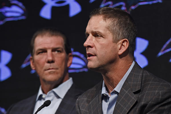 Ravens coach John Harbaugh excited for organizational meetings