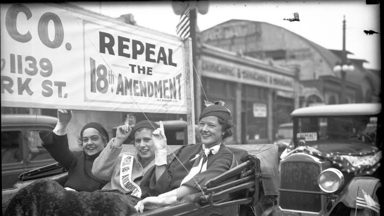 Historical Prohibition-era photos