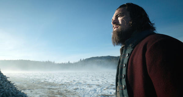 "Lead actor Oscar nominee Leonardo DiCaprio as fur trapper Hugh Glass in ""The Revenant."" (20th Century Fox)"