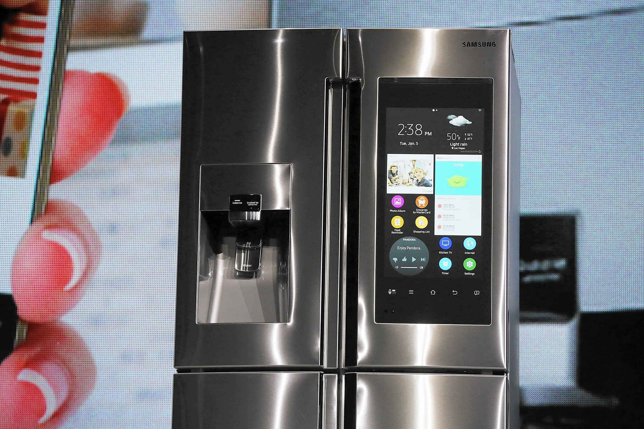 samsung tv refrigerator. our privacy is losing out to internet-connected household devices - la times samsung tv refrigerator