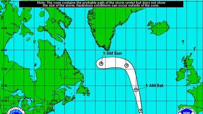 Hurricane Alex forecast track