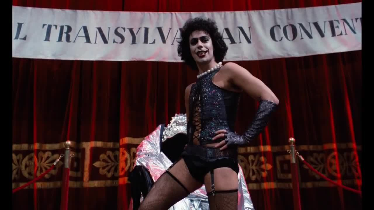 Sweet transvestite rocky horror original clip