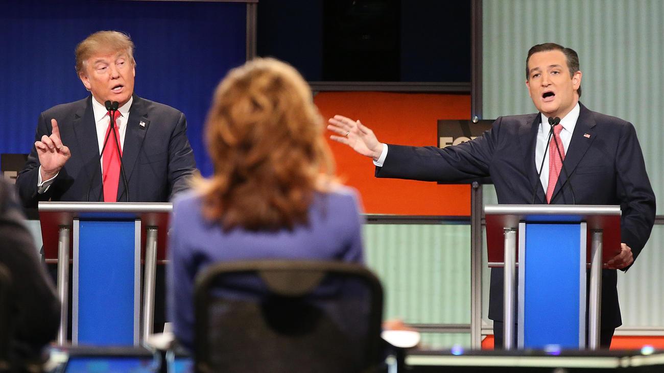GOP presidential candidates debate