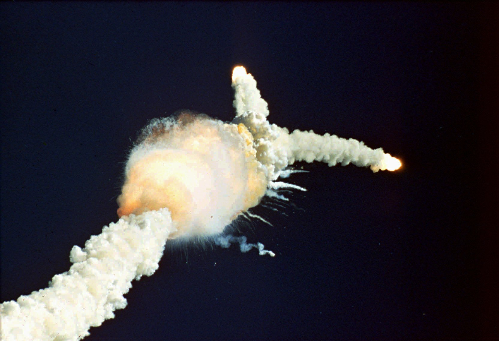 space shuttle challenger exploded in front Thursday marks the 30th anniversary of the 1986 challenger space shuttle  front, and parents grace  six astronauts perish when the space shuttle challenger.