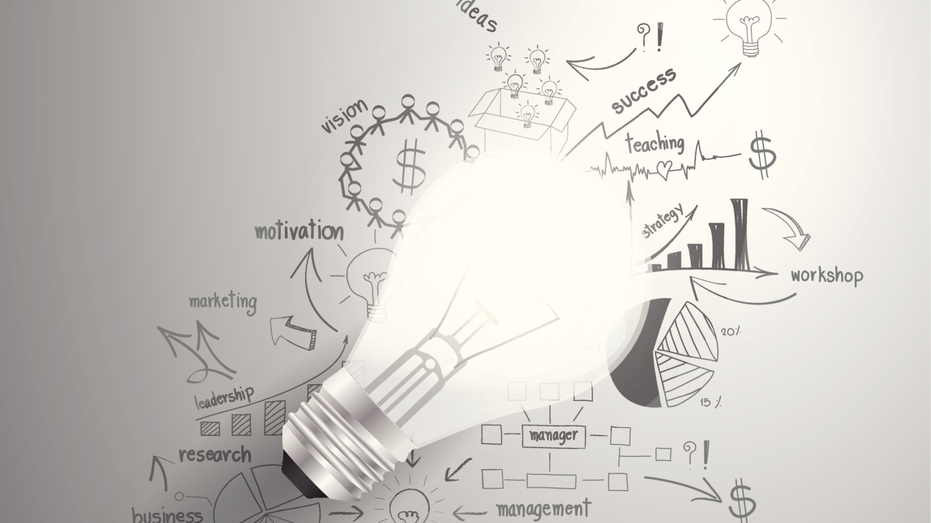 Bright ideas to help build a stronger startup