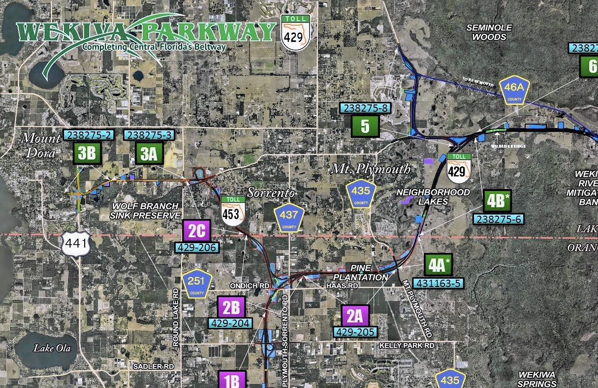 the first leg of the long-awaited wekiva parkway opens on wednesday