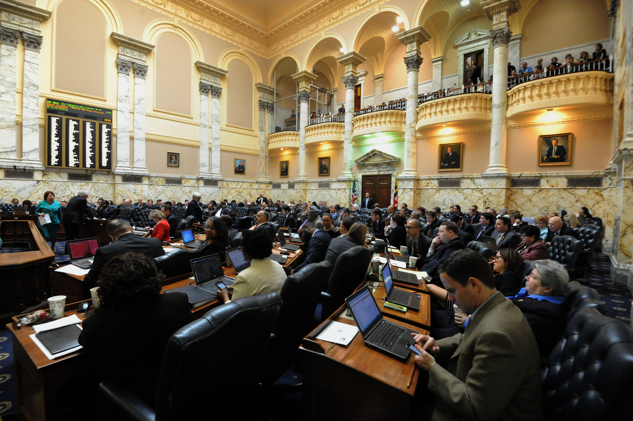 maryland house votes to override larry hogan's veto of felon