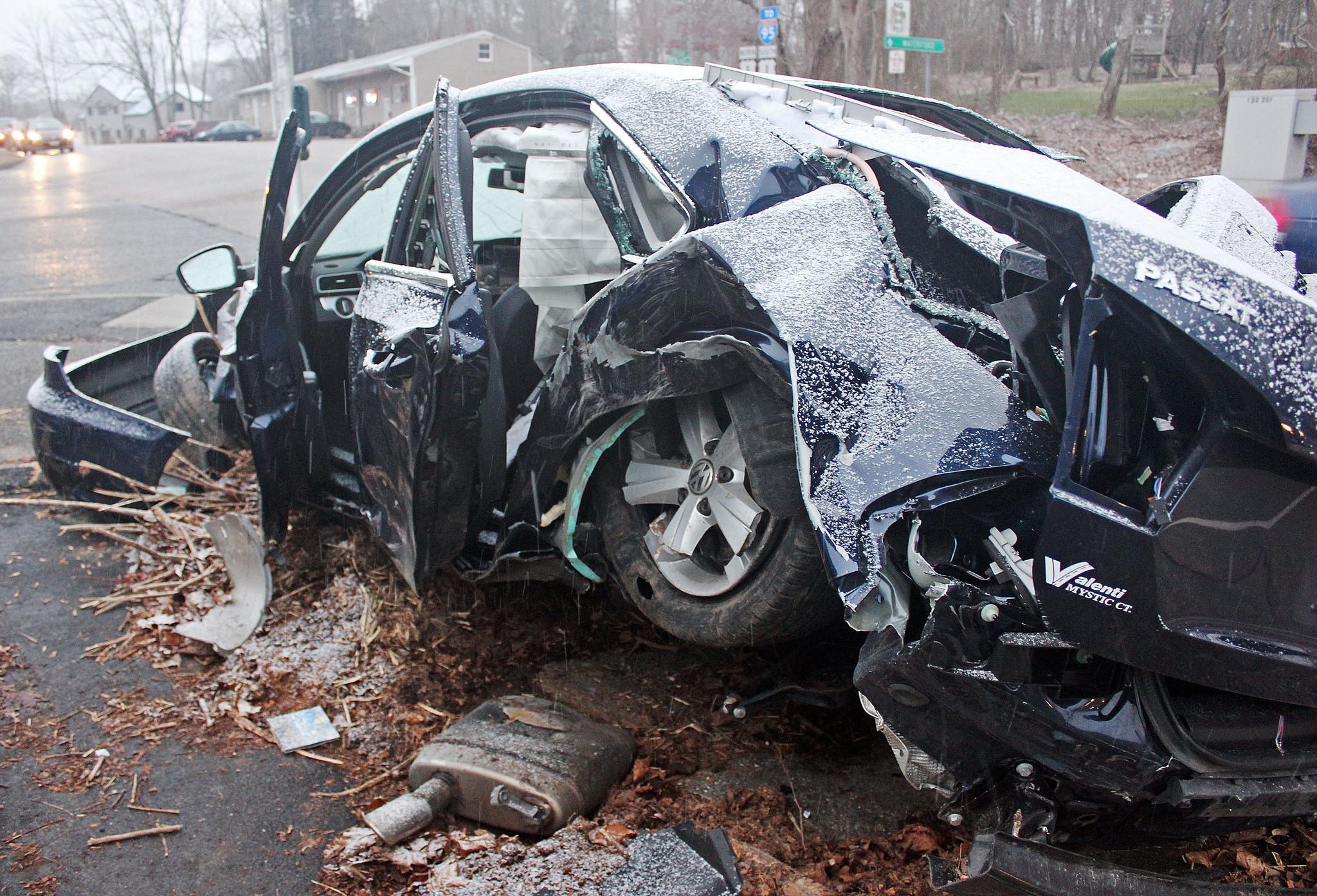 Questions Remain After Sen. Andrew Maynard's Car Crash - Hartford Courant