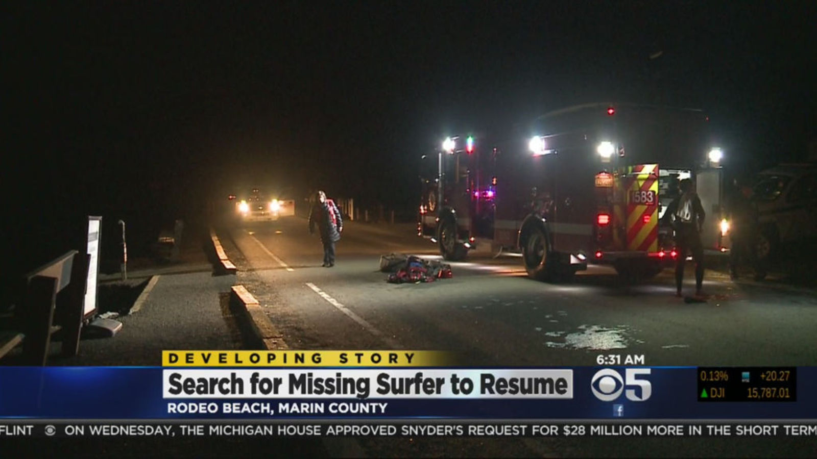 rescue efforts underway for missing surfer as powerful waves pound