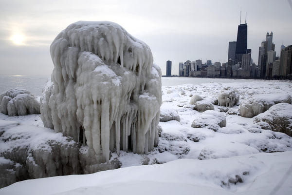 Snowstorm In Chicago This Weekend