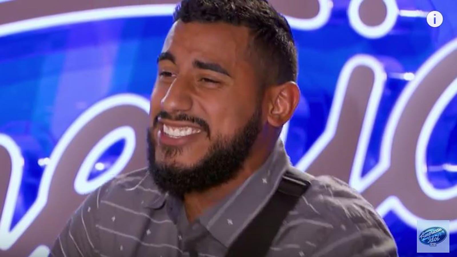 <b>Manny Torres</b> sings Maroon 5's 'This Love' in the last 'Idol' audition ever ... - la-et-st-manny-torres-american-idol-audition-20160122