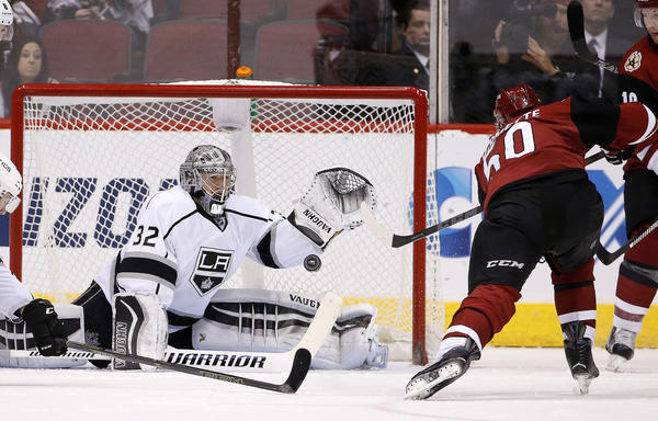 Kings Fall To Coyotes, 3-2, For Second Loss In A Row
