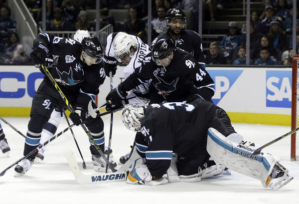 Kings Rally To Beat The Sharks, 3-2, In OT As Lecavalier And Gaborik Come Through