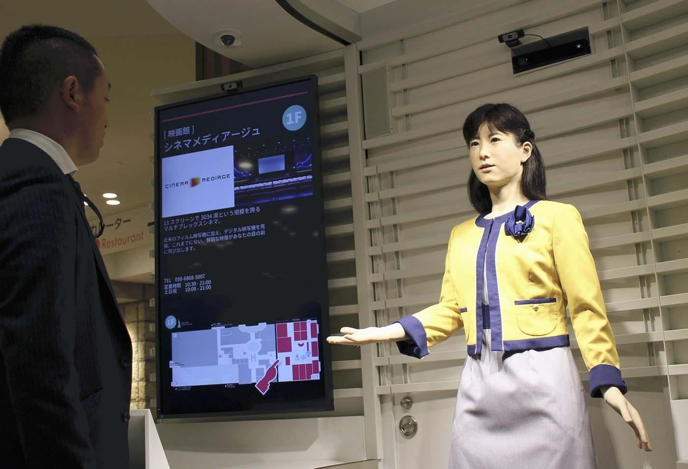 Japan's robots take on growing range of jobs