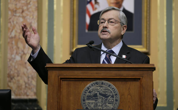 Iowa Gov. Terry Branstad. (Charlie Neibergall / Associated Press)