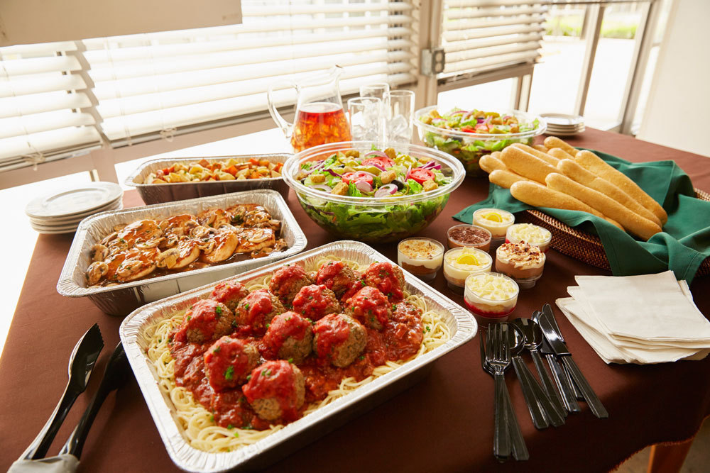 Olive garden adds catering delivery new menu items orlando sentinel What time does the olive garden close
