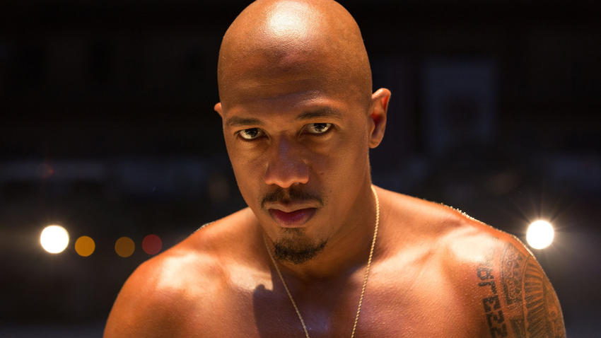 "Nick Cannon as the character Chi-Raq in Spike Lee's film ""Chi-Raq."" (Parrish Lewis / Roadside Attractions/Amazon Studios)"
