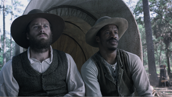 "Armie Hammer, left, and Nate Parker star in ""Birth of a Nation."" (Sundance Film Festival)"