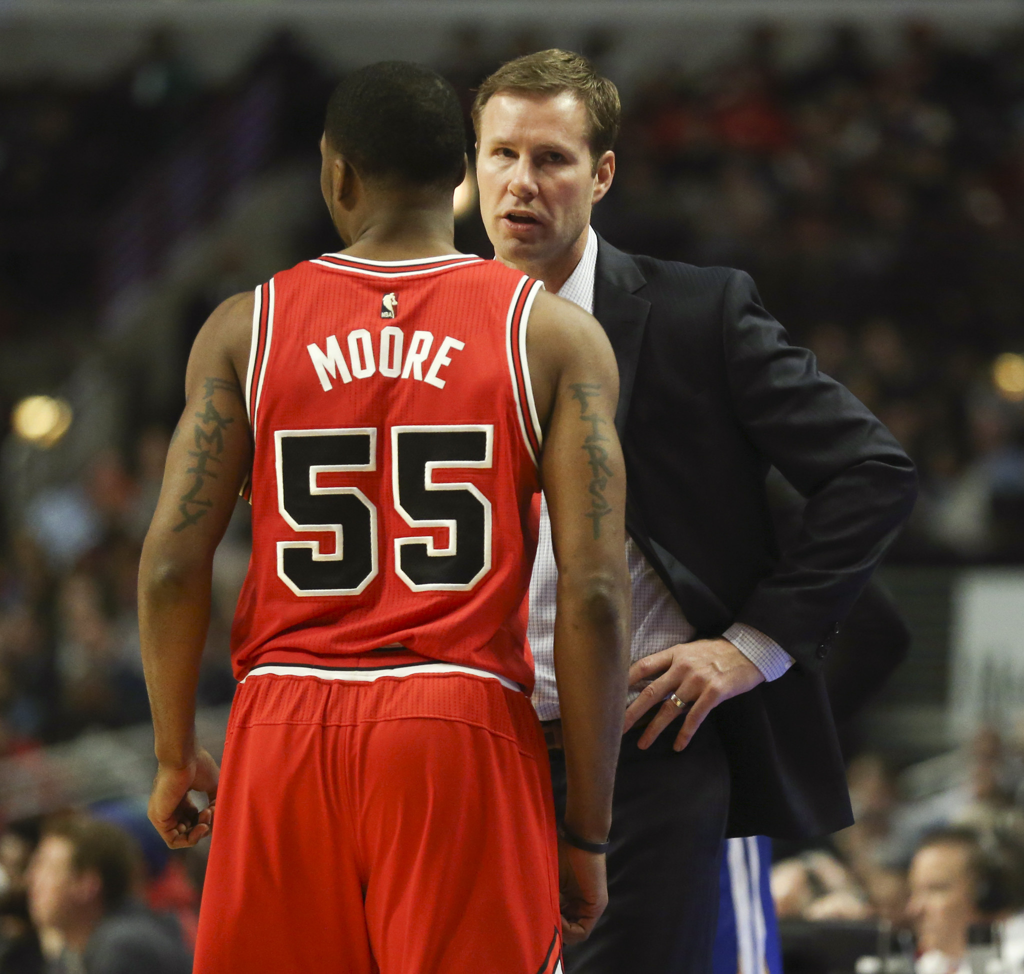 It's beyond me why Fred Hoiberg gets bulk of blame for up-and-down Bulls