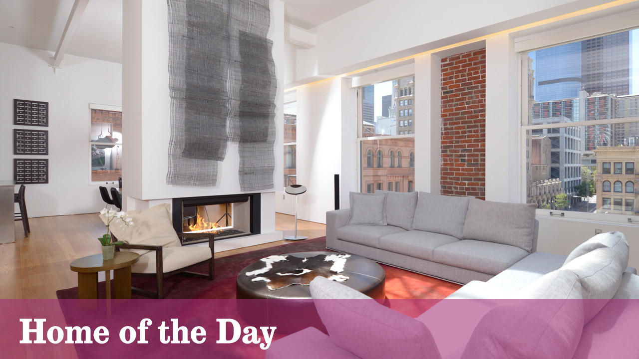 Home Of The Day A Penthouse At The Douglas Building In