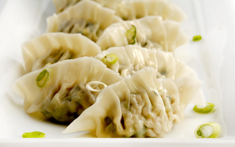 Cantonese Chinese New Year dumplings