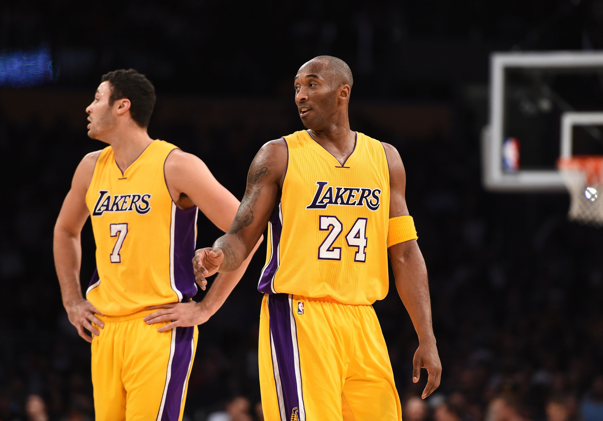 Larry Nance Jr happy to give up his seat for Kobe Bryant LA Times